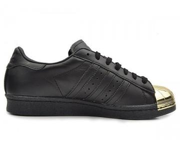 Adidas Originals Superstar 80s Metal Toe Schwarz/Gold D67591