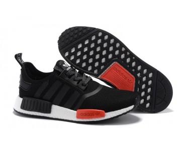 Adidas NMD R1 x Footlocker Exklusiv Schwarz Weiß Rot AQ4498