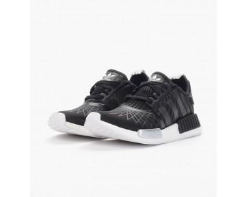 Adidas Originals Women NMD R1 Shoes Core BlackWhite S79386