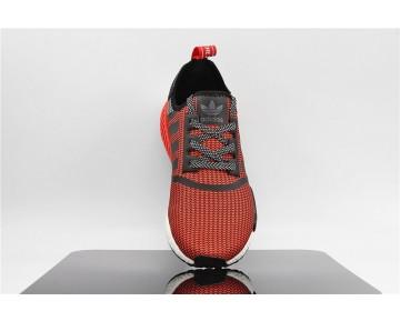 Adidas NMD Circa Knit R1 Runner S79158 üppigem Rot/Kern Schwarz/Weiß FTWR
