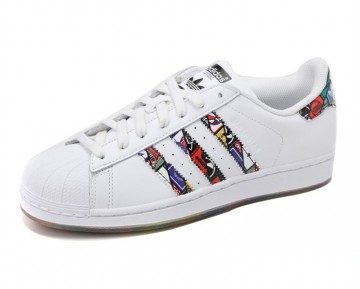 Adidas Originals Superstar LOGOS Weiß S79390