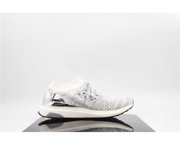 Adidas Ultra Boost Uncaged Plattierung Weiß/Grau