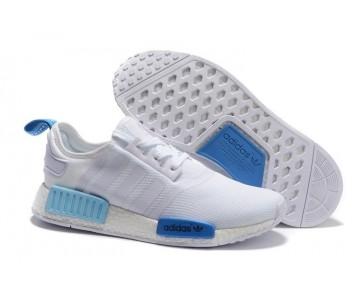 Adidas Wmns NMD R1 Runner Weiß/Blau Leuchten S75235