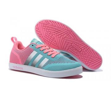 Adidas Neo Flyknit Damenlaufschuh Tadelloses Grün/Kirschrosa