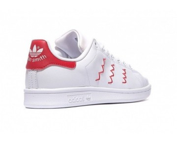Adidas Originals Stan Smith Zig Zag Weiß/Rot S75138