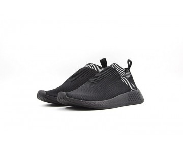 2017 Adidas NMD City Sock CS2 Alle Schwarz BA7213