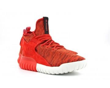 Adidas Originals Tubular X Primeknit Orange Rot/Weiß AQ4548