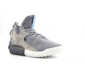 Adidas Originals Tubular X Primeknit Grau/Blau/Weiß AQ4546