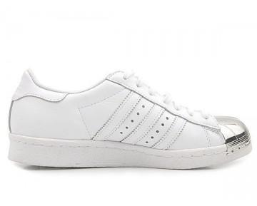 Adidas Originals Superstar 80s Metal Toe Weiß/Silber D67592