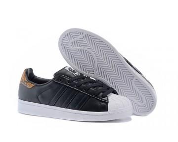 Adidas Originals WMNS Superstar Schwarz/Weiß/Leopard B35440