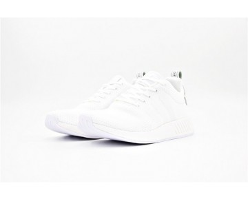 Adidas Originals NMD R2 Alle Weiß BB2956