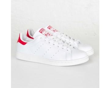 Adidas Stan Smith Lauf Weiß/Lauf Weiß/Kollegiale Rot M20326