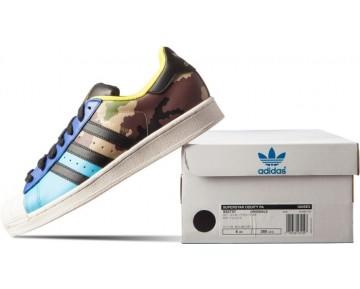 Adidas Originals Superstar Oddity Pack Camo Helles Cyan/Schwarz/Gold Met S82757