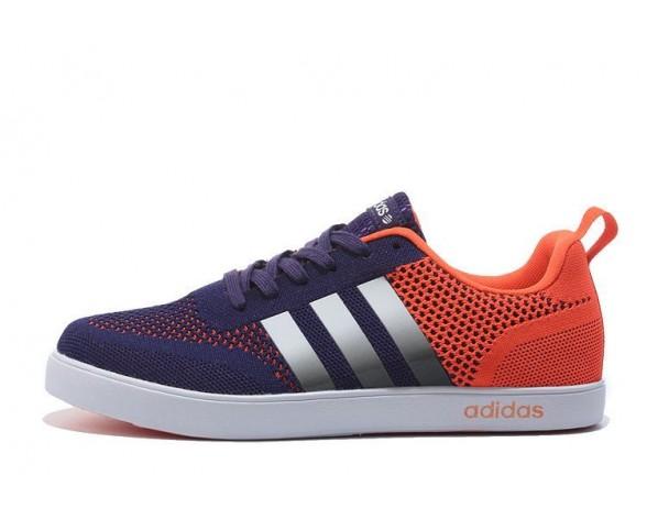 Adidas Neo Flyknit Damen Herren Laufschuhe Lila/Orange
