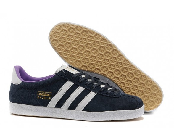 Adidas Gazelle OG Herren Schuhe Dunkel Marine/Weiß Dampf/Lab Lila G60758