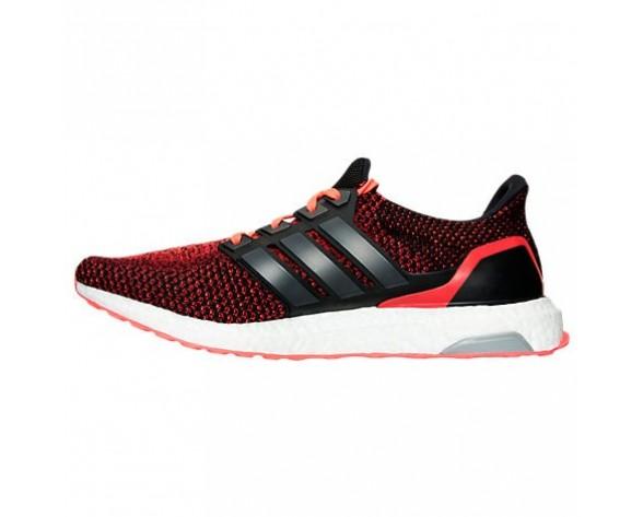 Herren Adidas Ultra Boost Laufschuhe Kern Schwarz/Kern Schwarz/Solar Rot AQ5930 BKR