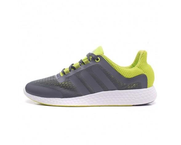 Adidas Pure Boost Chill Grau/Grün/Weiß S81454