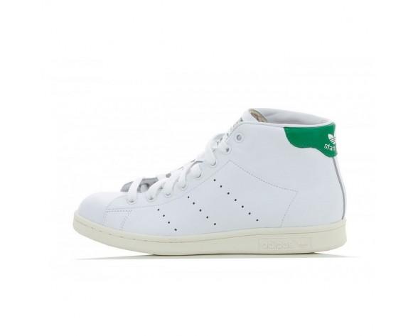 Adidas Stan Smith Mid FTWR Weiß/Grün /Kreide Weiß B24538