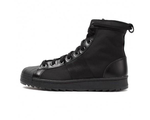 Adidas Originals Superstar Jungle Sportlich Stiefel Schuhe Alle Schwarz M25505
