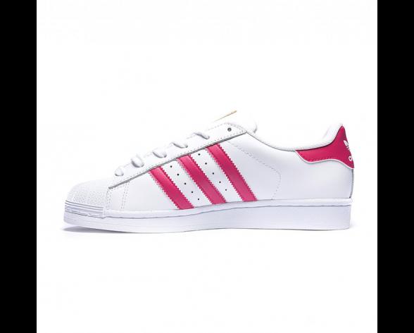 Adidas Originals Superstar Foundation Schuhe FTWR Weiß/Bold Rosa/FTWR Weiß B23644
