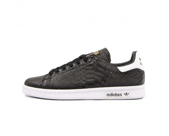 Adidas Stan Smith Crocodile Schwarz/Weiß AQ4631