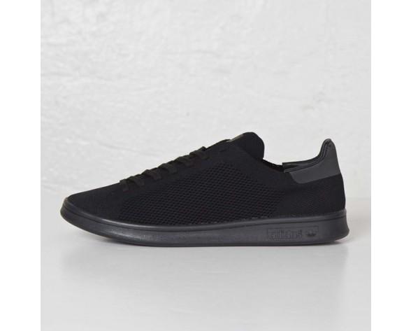 Adidas Originals Stan Smith Primeknit Sneakers 'Triple Schwarz' AF4452