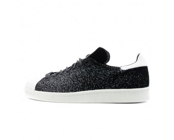 Adidas Originals Superstar 80s Primeknit Floureszierende Schwarz/Weiß/Kristall Weiß S32029
