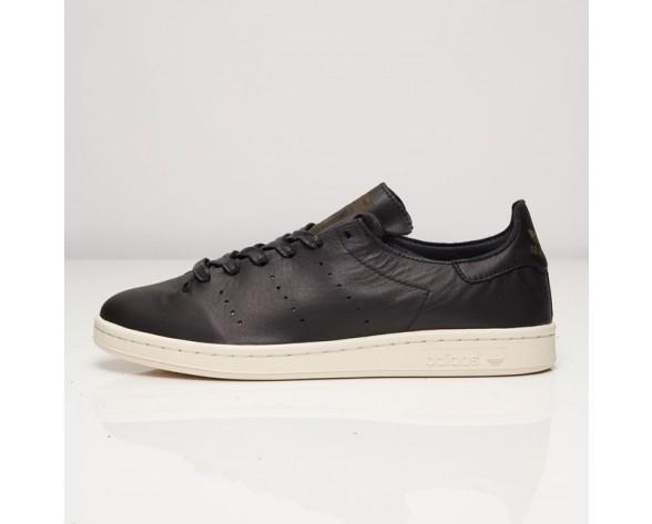 Adidas Stan Smith Leder Socke Schwarz AQ4788 Kern Schwarz/Kern Schwarz/Weiß FTWR