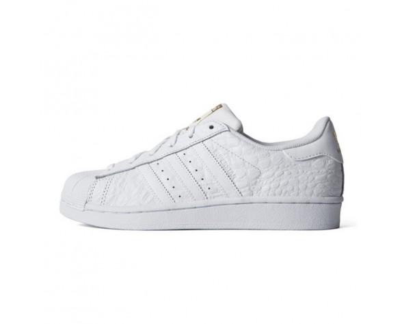 Adidas Originals Superstar Croc Weißes Gold AQ6686