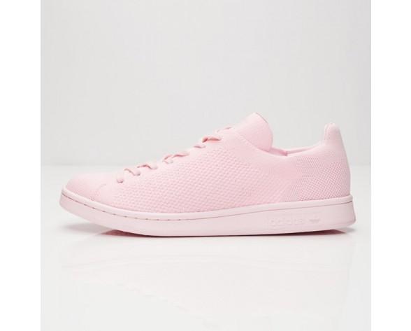 Adidas Originals Stan Smith Primeknit Schuhe Rosa Leuchten S80064