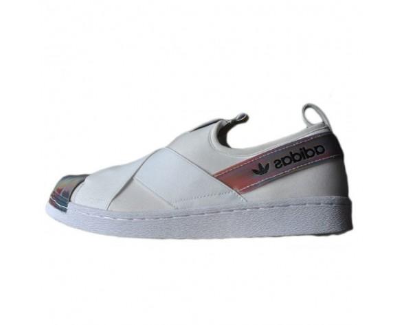 Adidas Superstar Slip On W Weiß/Regenbogen S82792