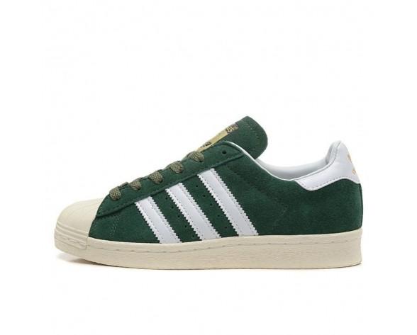 Adidas Originals Superstar 80s DELUXE Stifts Grün/Vintage Weiß/Gold Metallic B35987