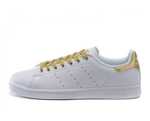 Adidas Originals Stan Smith W Weiß/Gold S78545