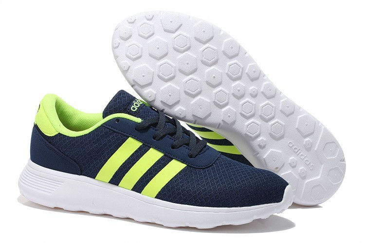 designer fashion 7a692 fb5a9 2015 Adidas Neo Lite Racer MarineFluoreszierend Gelb. Regulaerer Preis  91,99 €