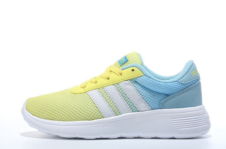 best service 854e8 1e341 2016 Adidas Neo Damen Herren Running Schuhe GelbWeißJade