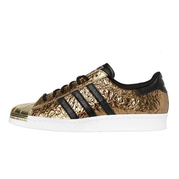 Adidas Originals Superstar 80s Metal Toe Gold MetallicKern