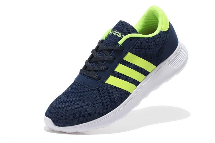save off 9bcae a145e 2015 Adidas Neo Lite Racer MarineFluoreszierend Gelb