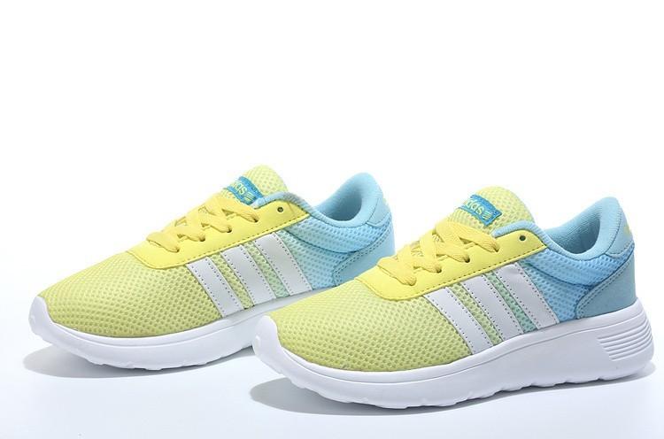 hot sale online ca10b 2b3d2 2016 Adidas Neo Damen Herren Running Schuhe GelbWeißJade. Regulaerer  Preis 91,99 €