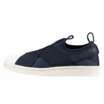 Adidas Originals Superstar Slip On W Marine Blau/Weiß S81341