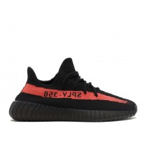 Adidas Yeezy 350 Boost V2 Core Schwarz/Rot BY9612