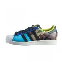 Adidas Originals Superstar Oddity Pack Camo Helles Cyan/Schwarz/Gold Met S82757