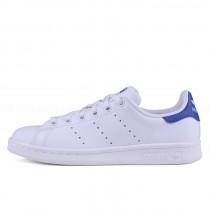 Adidas Originals Stan Smith J Weiß Blau S74778
