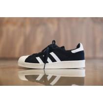 Adidas Consortium Superstar 80s Primeknit Kern Schwarz/Schuhe Weiß/Core Weiß S77439