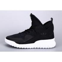 Adidas Big Kids Tubular X Schwarz/KernSchwarz/Weiß S82701