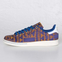 Adidas Stan Smith Blau/Gold S75121