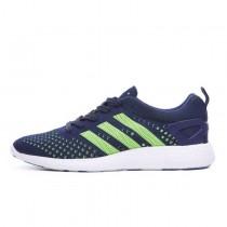 Adidas Consortium Primeknit Pure Boost Tiefen Blauen/Fluoreszenz Grün/Weiß