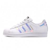 Adidas Originals Superstar Junior Klassisches Weiß/Hologramm Irisierenden AQ6278