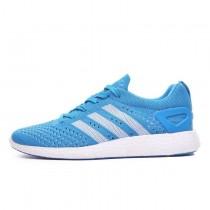 Adidas Primeknit Pure Boost Solar Blau/Laufen Weiß/Tribe Blau M21801