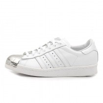Adidas Originals Superstar 80s Metal Toe Weiß/Silber D67592