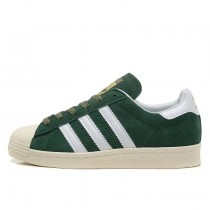 Adidas Originals Superstar 80s DELUXE Stifts Grün/Vintage Weiß/Gold Metallic B35987